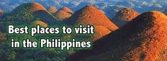 Philippines People, Overseas Travel, Dentist In, Cosmetic Dentistry, Dental Implants, Cool Places To Visit, Chocolate Hills, Have Fun, Vacation