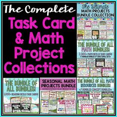 The ULTIMATE collection of task cards, resources, error analysis tasks, and MORE!  A must have for any 3rd, 4th or 5th grade teacher.