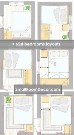 Here S 8 X 9ft 2 44 X 2 74m Bedroom Layout Which Fulfills The 70 Square Foot Code Requirement