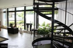 Otsolahdentie 10 Dream Apartment, Helsinki, Living Area, Stairs, Architecture, Places, House, Home Decor, Arquitetura
