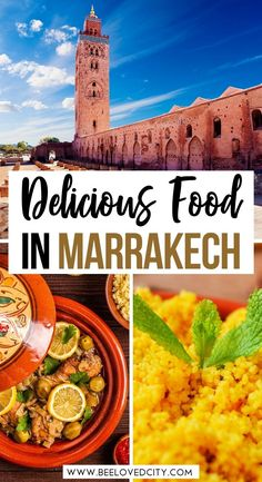 Visiting Marrakech soon? Discover the most delicious foods in Marrakech in this ultimate foodie guide! Tajines, Couscous, Mint tea... everything you need to know about Moroccan food is here! Marrakech Morocco | Morocco aesthetic | Marrakech photography | Marrakech travel guide | Marrakech travel photography | Marrakech travel inspiration | Marrakech travel tips | Things to do in Marrakech | Things to do in Morocco | Marrakech bucket lit Marrakech Things To Do, Visit Marrakech, Marrakech Travel, Marrakech Morocco, Morocco Travel, Africa Travel, Top Travel Destinations, Places To Travel, Travel Info