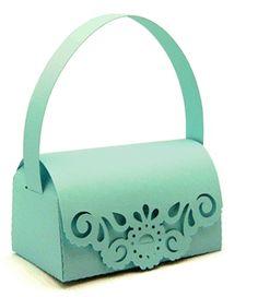 Gorgeous round fancy purse 3D Silhouette project