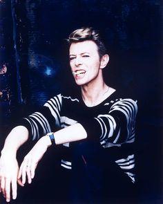 David photographed by Ellen von Unwerth in 1995.