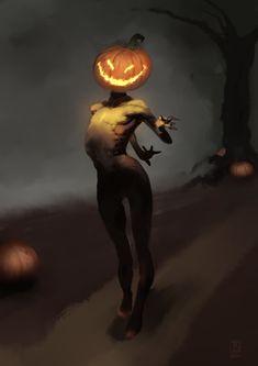 The Pumpkin King. If he was painted as a dark renaissance painting. Renaissance Paintings, Pumpkin Carving, Challenge, Batman, King, Dark, Halloween, Digital, Wallpaper