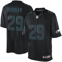 """$23.88 at """"MaryJersey"""" (maryjerseyelway@gmail.com) Nike Eagles 29 DeMarco Murray Black Men Stitched NFL Impact Limited Jersey"""