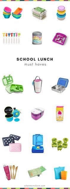 School Lunch Box con
