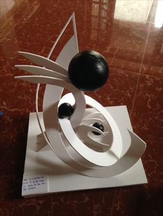 Mô hình khối_vp Paper Sculptures, Circle Design, Planes, Composition, Arch, Concept, Monuments, Sculptures, Architecture