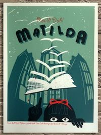 10 Beautiful Posters Inspired by the Books of Roald Dahl by Michelle Dean // Flavorwire // Sept 13, 2013