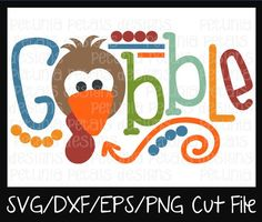 Check out our turkey svg selection for the very best in unique or custom, handmade pieces from our shops. Silhouette Cameo Projects, Silhouette Design, Scrapbook Designs, Cricut Creations, Thanksgiving Crafts, Vinyl Projects, Petunias, Vinyl Designs, Svg Cuts