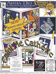 Color Me Catholic: New Roman Missal Edition. Religious Education, School or Home