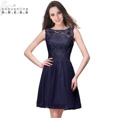 Cheap bridesmaid dresses 2016, Buy Quality short bridesmaid dress directly from China bridesmaid dresses Suppliers: Robe demoiselle D'honneur Cheap Navy Blue Lavender Chiffon Short Bridesmaid Dresses 2017 Under 50 Vestido de Festa de Casamento