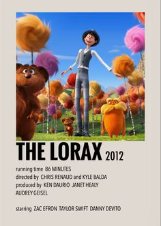 The Lorax by Millie