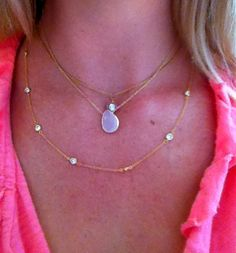 Different STAX: Layered Necklaces
