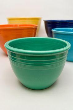 Vintage Fiesta Nesting Bowls