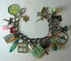 Peter Pan Neverland Charm Bracelet! I could totally make this!