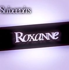 I ❤ roxanne Rap Song Lyrics, Music Video Song, Cool Lyrics, Rap Songs, Audio Songs, Music Videos, Mood Songs, Music Mood, Song Qoutes