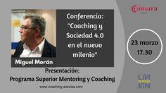 Asistir marcará la diferencia entre lo que se sabe y lo que se debe saber. Imprescindible !! http://www.camaragijon.es/contenidos/es/jornadas/jornada-coaching-y-sociedad-4.0/