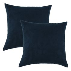 Brite Ideas Living Slam Dunk D-Fiber Pillow - Set of 2 Navy