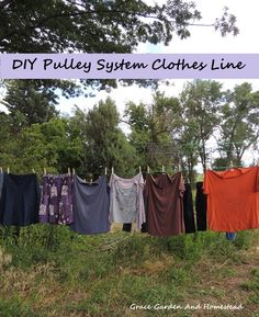 How To Make A Clothesline Amusing Diy Clothesline With These Great Little Gadgets Line Tightener Design Inspiration