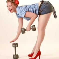 Inspiration for my pin up Girl tattoo I will eventually get