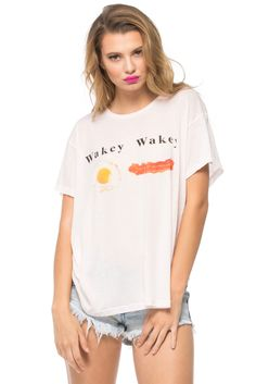 Eggs and Bakey Manchester Tee