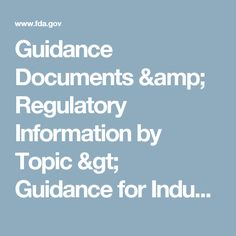 Guidance Documents & Regulatory Information by Topic > Guidance for Industry: Current Good Manufacturing Practice in Manufacturing, Packaging, Labeling, or Holding Operations for Dietary Supplements; Small Entity Compliance Guide