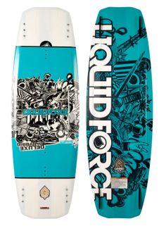 wake - Deluxe Hybrid - Liquid force 2014