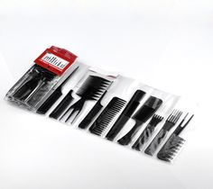 10pcs/set Black Professional Combs Hairdressing Salon Styling Barbers Set 15cm - 23cm, Free shipping 2015 New Style #Affiliate