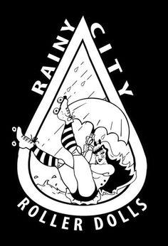 rat city rollergirls logo - Pesquisa Google