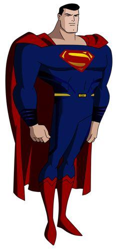 JLU Superman Dawn of Justice by Alexbadass.deviantart.com on @DeviantArt