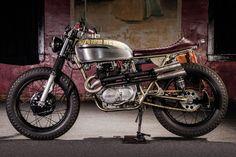 '74 Honda CL360 – Modern Metals | Pipeburn.com
