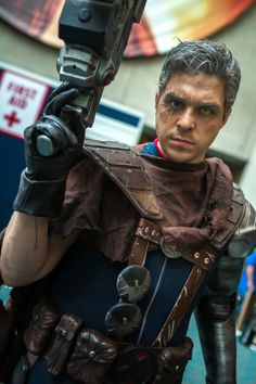 The Comic-Con 2013 Cosplay  - Cable, another favorite.