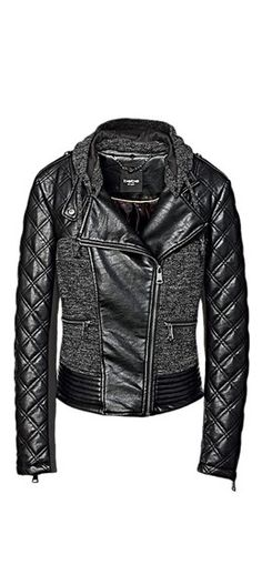 Faux leather jacket (on sale for $79!!)