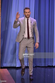 <a gi-track='captionPersonalityLinkClicked' href=/galleries/search?phrase=Ryan+Reynolds&family=editorial&specificpeople=204149 ng-click='$event.stopPropagation()'>Ryan Reynolds</a> Visits 'The Tonight Show Starring Jimmy Fallon' at NBC Studios on February 9, 2016 in New York City.