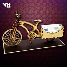 Stagnation...!!! Not my word😎... Cycle 🚲the symbol ☸of development and movement towards the goal... We have made an another miniature of cycle by using pine wood to keep your card in a new style... Awestruck and eye catching craft made with love from the artists of vishwakarma laser tech... 8 inches in size and beautiful enough to become the attraction point of your clients... #Limited #edition #cycle #wood #makingyourstuff.. #laser #art&craft.. #keepmoving..