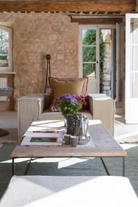 La Piboule, Provence, France - sitting room