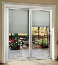 Patio Doors With Blinds