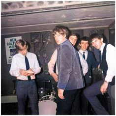The Rolling Stones - Ken Colyer Club; 1963 (colorized)