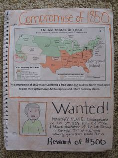 Interactive Notebook Resource:  Use lots of pictures and maps