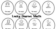 {Freebie} Lucky Charms Semantic Feature Analysis Worksheet