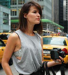 studded bra and shirt <3