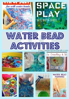 Water Bead Activities | Play 2 Learn with Sarah