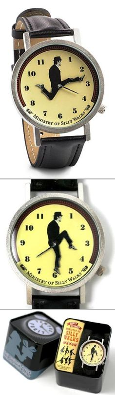 For all the silliness that is Monty Python - and the Ministry of Silly Walks!