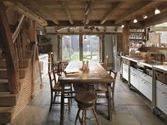 cool rustic kitchen