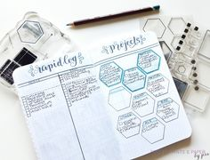 An awesome monthly set up for rapid logging tasks and things to buy, and the focuses on this month's projects at work and home
