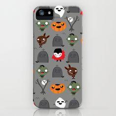 Not that spooky halloween iPhone Case by Maria Jose Da Luz - $35.00