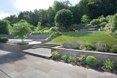 Gartengestaltung Hanglage bildergebnis für gartengestaltung hanglage gabionen house