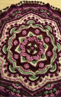Mandala Madness - Free Pattern on Ravelry this one by K. Reynolds