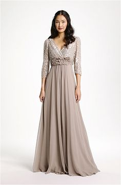 Teri Jon Lace and Chiffon gown for my mom