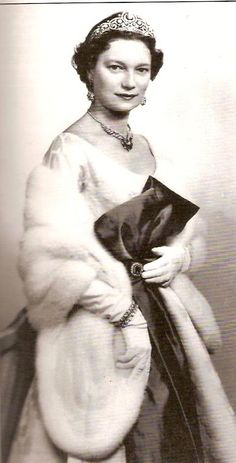 Her Royal Highness Grand Duchess Joséphine-Charlotte of Luxembourg. Born a princess of Belgium, the daughter of King Leopold III and Queen Astrid, she married Prince Jean, then Hereditary Grand Duke of Luxembourg in 1953. They had 5 children, including Henri, current Grand Duke.